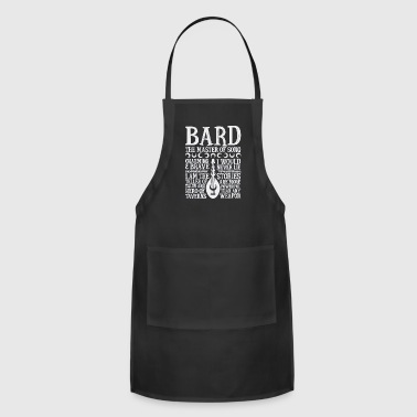 BARD THE MASTER OF SONG Dungeons Dragons Whi - Adjustable Apron