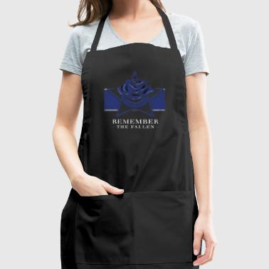 Police Memorial Fallen Heroes Sheriff Deputy Gifts - Adjustable Apron