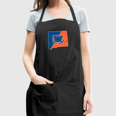 New Mexico Coast Guard Wife Coast Guard Merchandise - Adjustable Apron