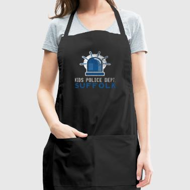 Future Police Officer Police Kids Suffolk Shirt - Adjustable Apron
