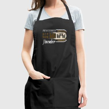Gothic Birthday Princessess Castle Born November - Adjustable Apron