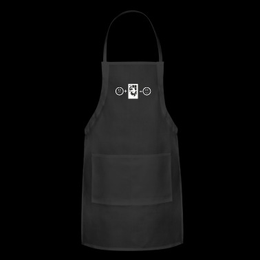 Scary Equals Happy Halloween Horror Film - Adjustable Apron