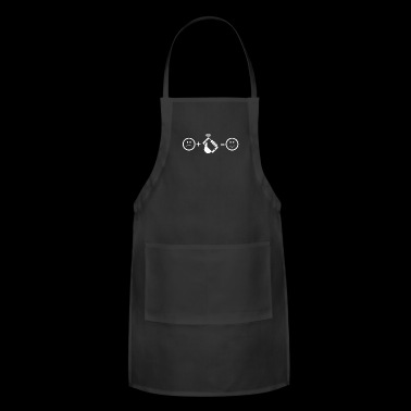 Cell Phone Equals Happy Mobile Phone Shirt - Adjustable Apron