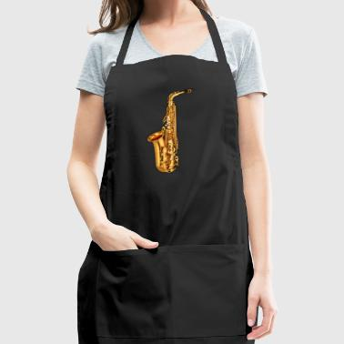 Golden Saxophone - Adjustable Apron