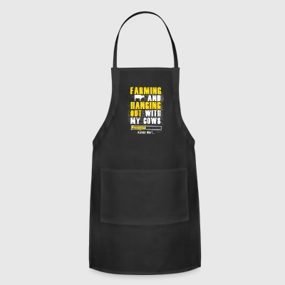 Farming and hanging T Shirts - Adjustable Apron