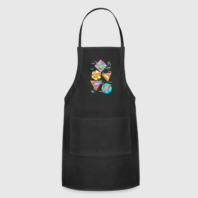 Nineties Dinosaurs Pattern - Adjustable Apron