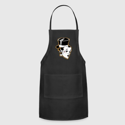 Skull With Mask - Adjustable Apron