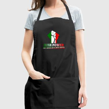 IRISH POWER FIRST AMERICAN SLAVES UNITED - Adjustable Apron