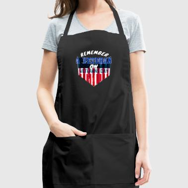 REMEMBER A VETERAN ON VETERANS DAY - Adjustable Apron