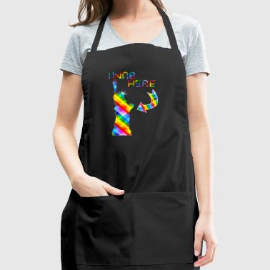 Liberty monument - I was here - Adjustable Apron