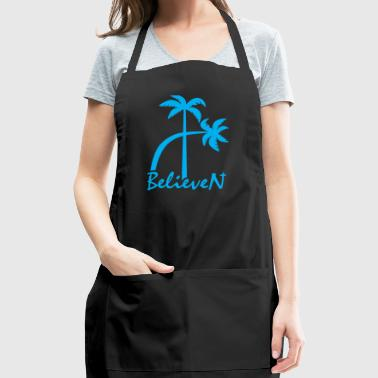 BelieveN blue - Adjustable Apron