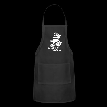 BOATS N HOES T Shirt Cool Step Brothers Funny and - Adjustable Apron