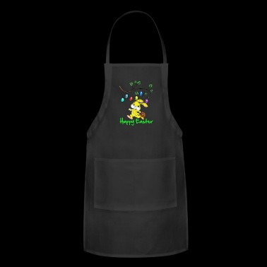 Easter, easter bunny, easter egg, easter, happy - Adjustable Apron
