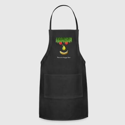 Put On A Happy Face - Adjustable Apron