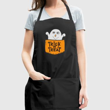 Trick or Treat Funny Halloween - Adjustable Apron