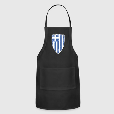 Shield of Greece - Adjustable Apron