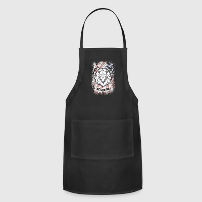 Beard On Patriotic Shirt - Adjustable Apron