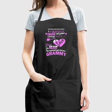 Best Secret Love When Become Grammy Shirt - Adjustable Apron