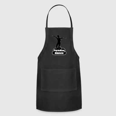 paradisedance blak - Adjustable Apron