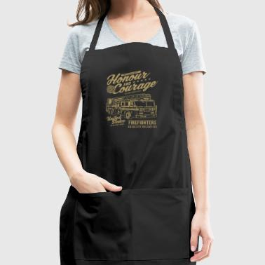 HONOUR AND COURAGE - Adjustable Apron