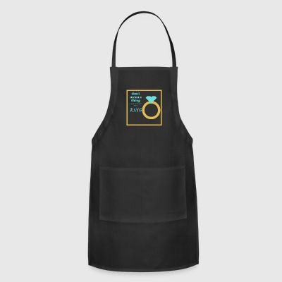 Without A Ring - Adjustable Apron