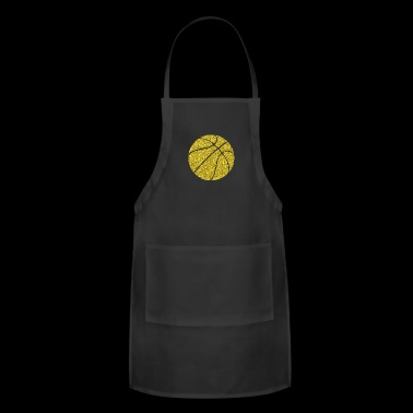 Golden Basketball Ball Bball Sports Streetball nba - Adjustable Apron