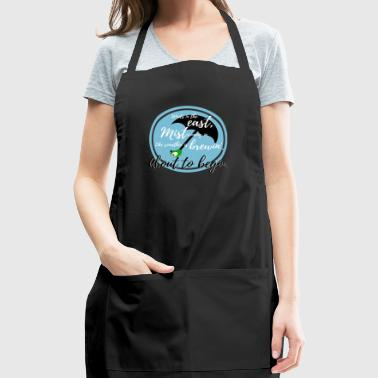 Winds in the East, Mist Coming In. - Adjustable Apron