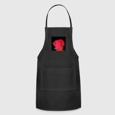 Love like a red, red rose - Adjustable Apron