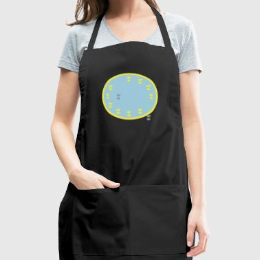 EU flag bomb - Adjustable Apron