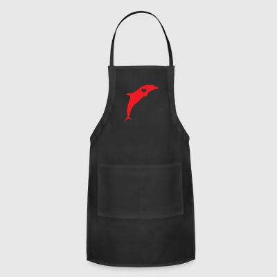 Dolphin Love - Adjustable Apron