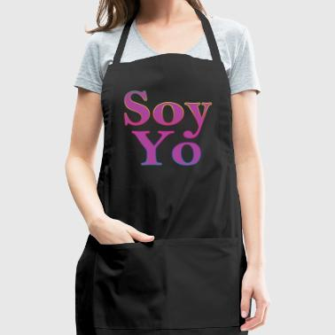 Soy Yo Rainbow Lettering - Adjustable Apron