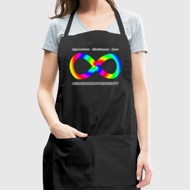 Embrace Neurodiversity with Swirl Rainbow - Adjustable Apron
