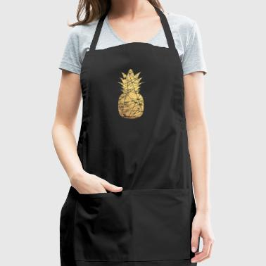 gold pineapple - Adjustable Apron