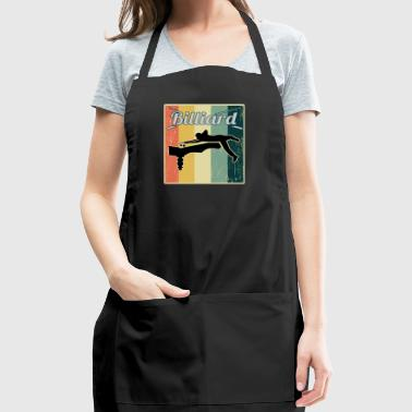 Vintage Retro Old School Billiard - Adjustable Apron