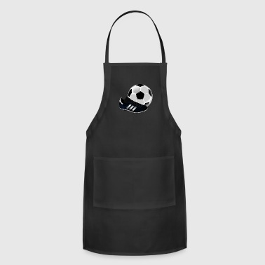 soccer ball with cleat - Adjustable Apron