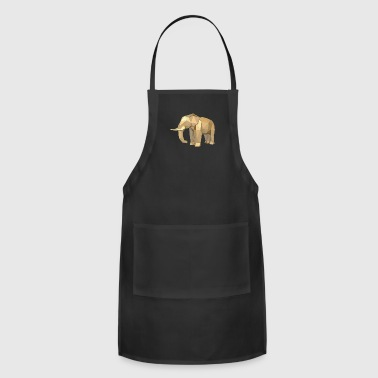 Geometric African American Elephant - Adjustable Apron