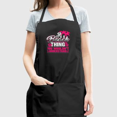 Beach Thing beach holiday party gift - Adjustable Apron