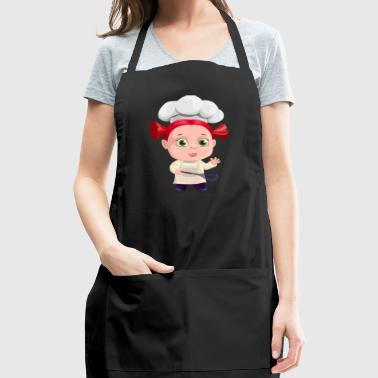 Cute Kitchen Girl Cook - Adjustable Apron