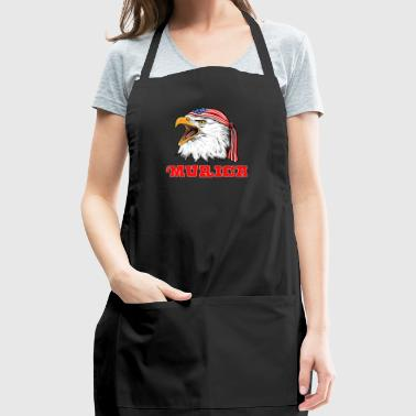 American Bald Eagle Merica Independence Day 4th Of July - Adjustable Apron