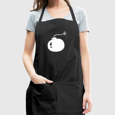Comic Monster Creature Figure in funny drawing 21 - Adjustable Apron