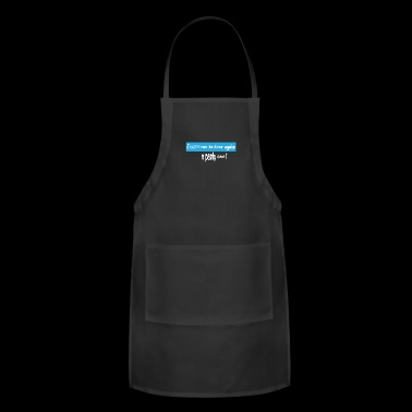 Exam student uni party celebrate learning graduati - Adjustable Apron