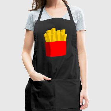 french fries pommes frites fastfood fast food11 - Adjustable Apron