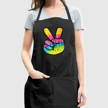 Psychedelic Peace Sign - Adjustable Apron
