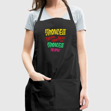 Strongest typhoon could bend the strongest people - Adjustable Apron
