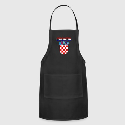 Croatia Coat Of Arms - Adjustable Apron