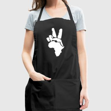 Peace To Africa - Adjustable Apron