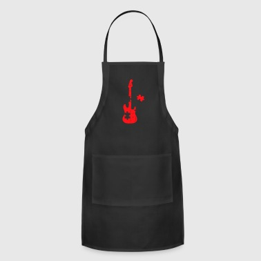 Guitar Puzzle - Adjustable Apron