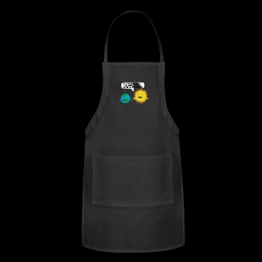 World Revolves - Adjustable Apron