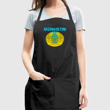 Kazakhstan Coat Of Arms - Adjustable Apron