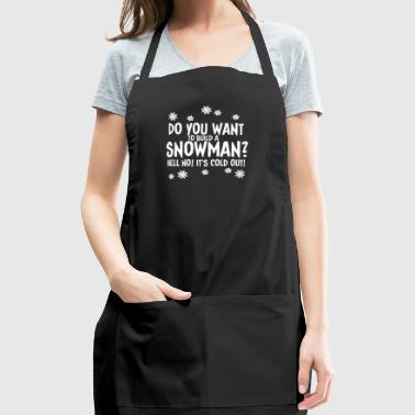 Build A Snowman - Adjustable Apron